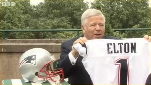 Kraft announces Elton on BBC
