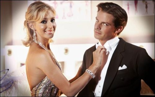 Ali Bastian and Brian Fortuna
