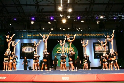 cheerleading Hurricanes 2008 Worlds