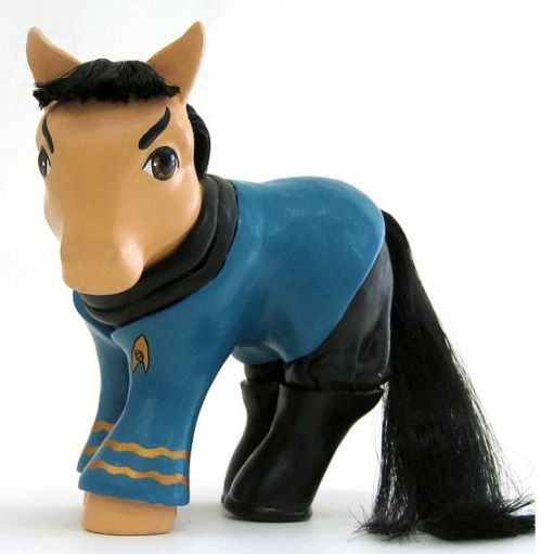 my spock my little pony