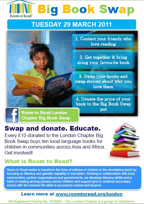 Big Book Swap flyer