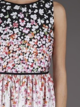 RED Valentino day dress close up