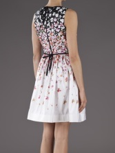 RED Valentino day dress reverse